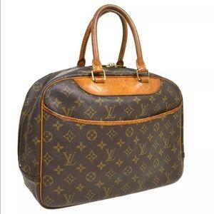 LOUIS VUITTON DEAUVILLE CANVAS BUSINESS HAND BAG
